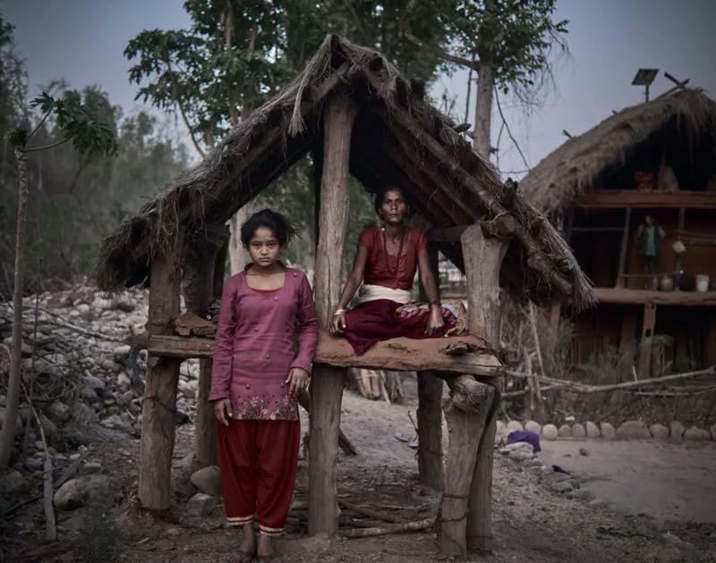 Chhaupadi Hut in Nepal