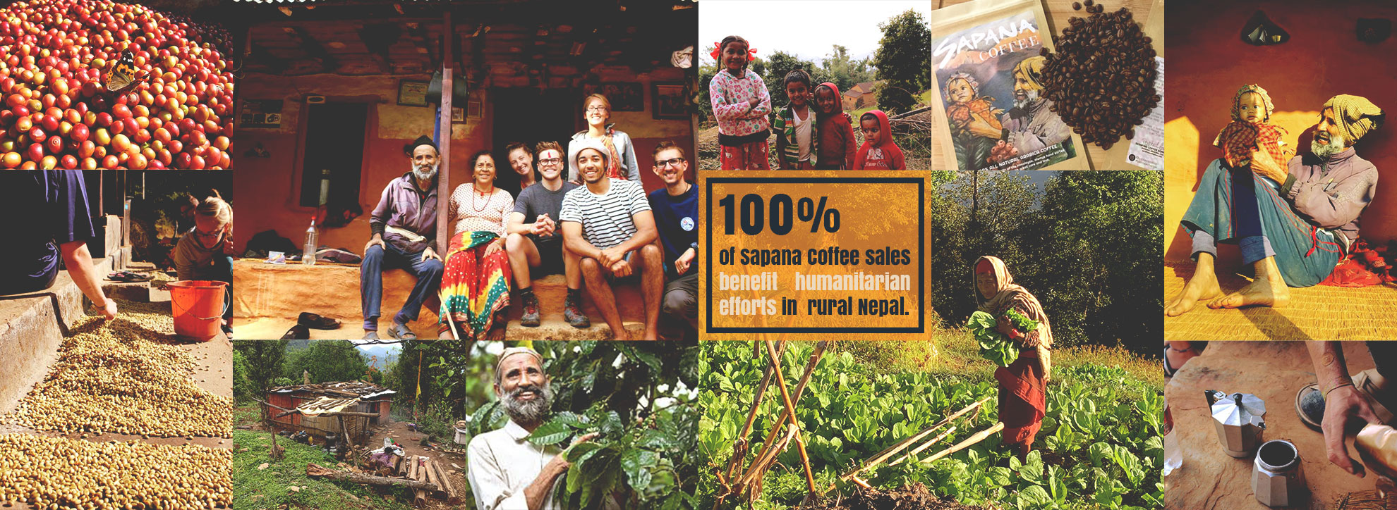 Sapana Coffee from Elevate Nepal Inc